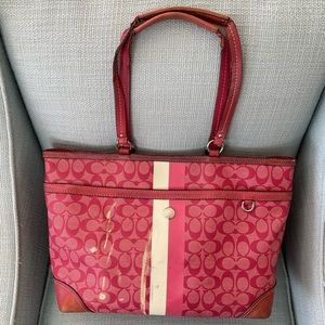 Coach chelsea diaper bag